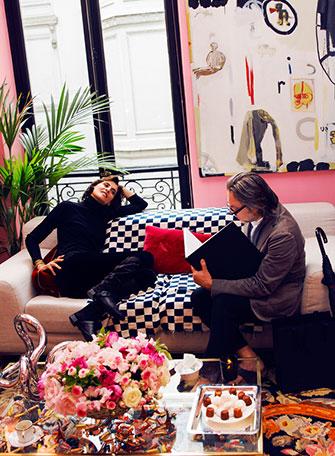 Inès de La Fressange, Jacobus Snyman, Paris 2014