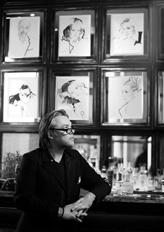 David Downton at Claridge's