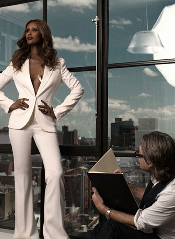 Iman, Tim Petersen, New York 2012