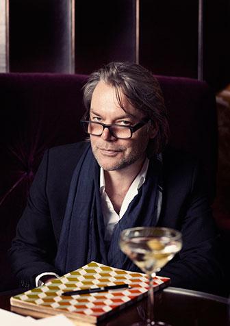 David Downton at Claridge's