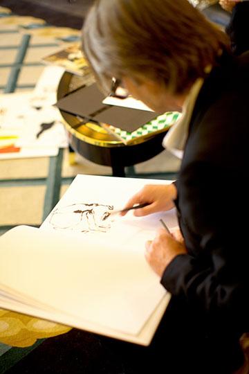 David Downton Commission a Portrait