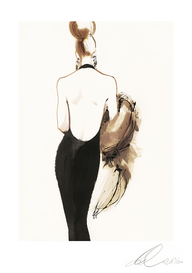 David Downton - Yves Saint Laurent Autumn/Winter 1999/1
