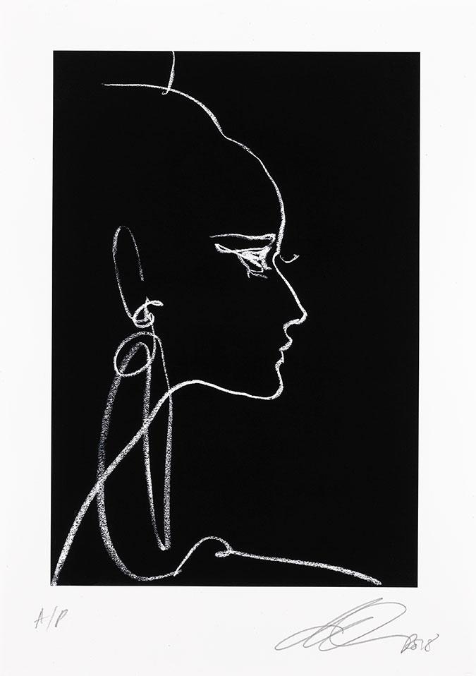 David Downton - Balmain Couture AW1997