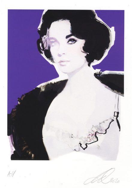 David Downton - Pop Up Shop - Elizabeth Taylor 1