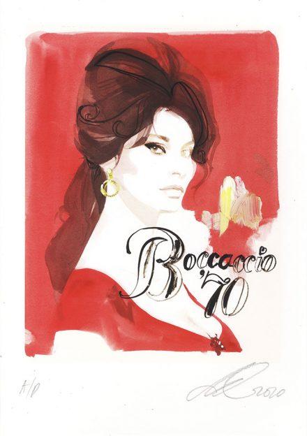 David Downton - Pop Up Shop - Sophia Loren 1