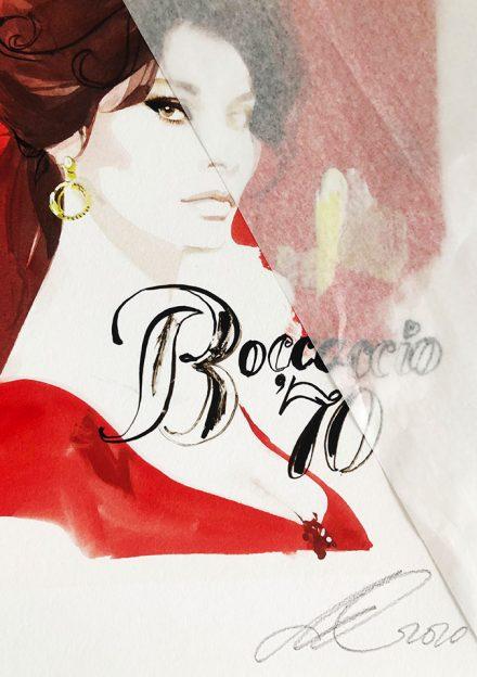 David Downton - Pop Up Shop - Sophia Loren 2
