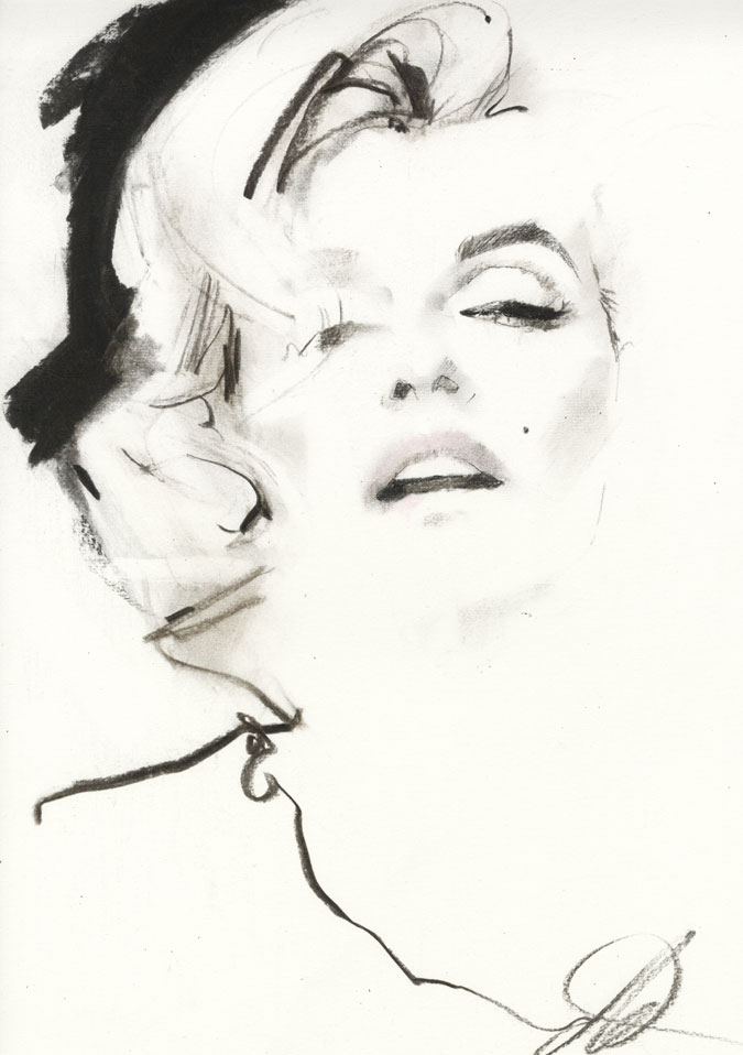 David Downton - Pop Up Shop - Marilyn Monroe 1