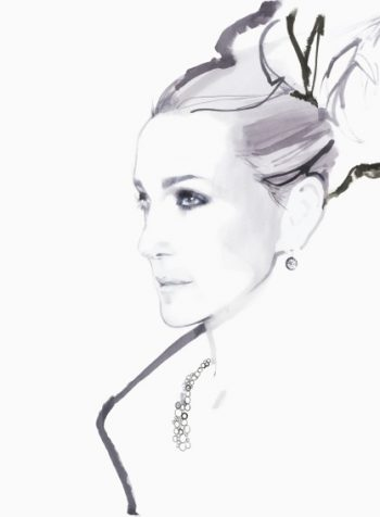 Sarah Jessica Parker, Claridge's September 2011