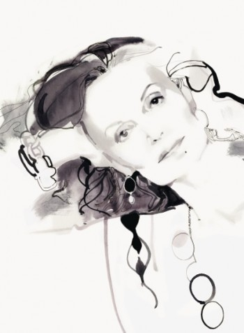 Diane von Furstenberg, Claridge's September 2011