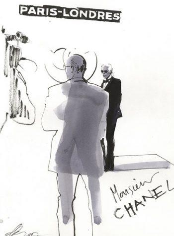 Karl Lagerfeld Paris-Londres, 2007