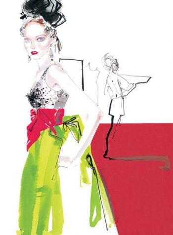 Lily Cole Lacroix Couture, 2005