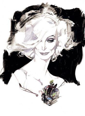 Carmen Dell'Orefice, London 2003