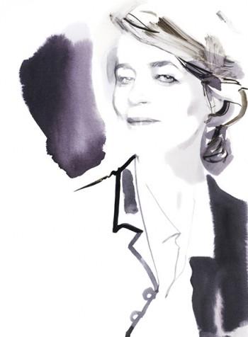 Charlotte Rampling, Paris 2014